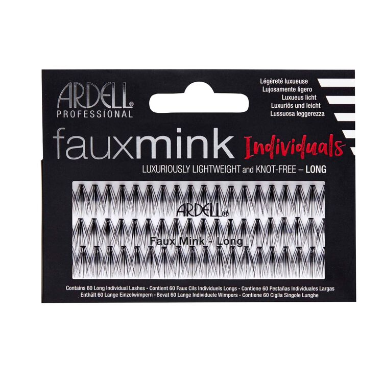 Faux Mink Individuals Long Lashes