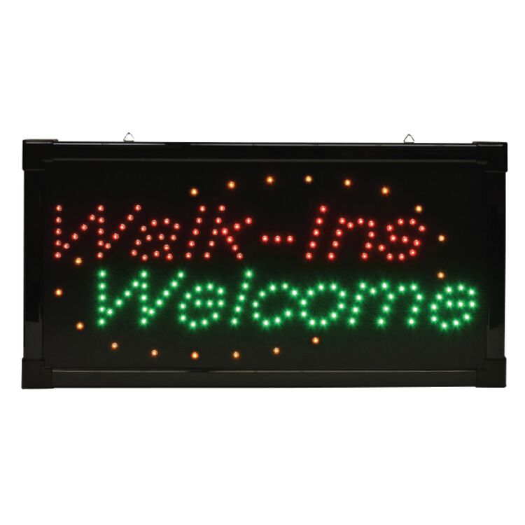"""""""Walk-Ins"""" Welcome LED Sign"""