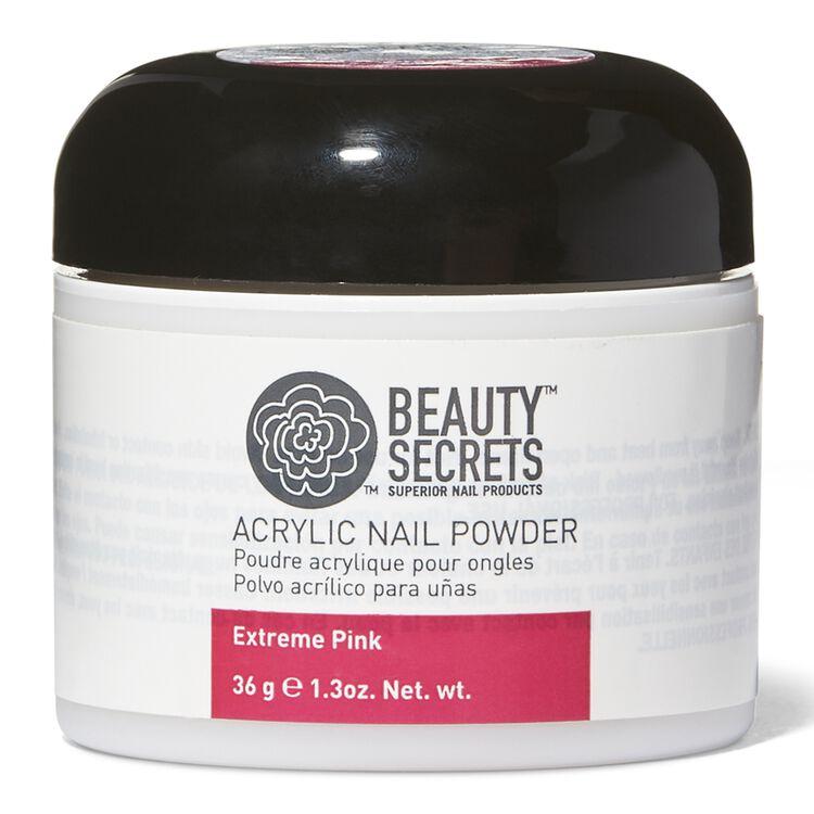 Extreme Pink Acrylic Nail Powder