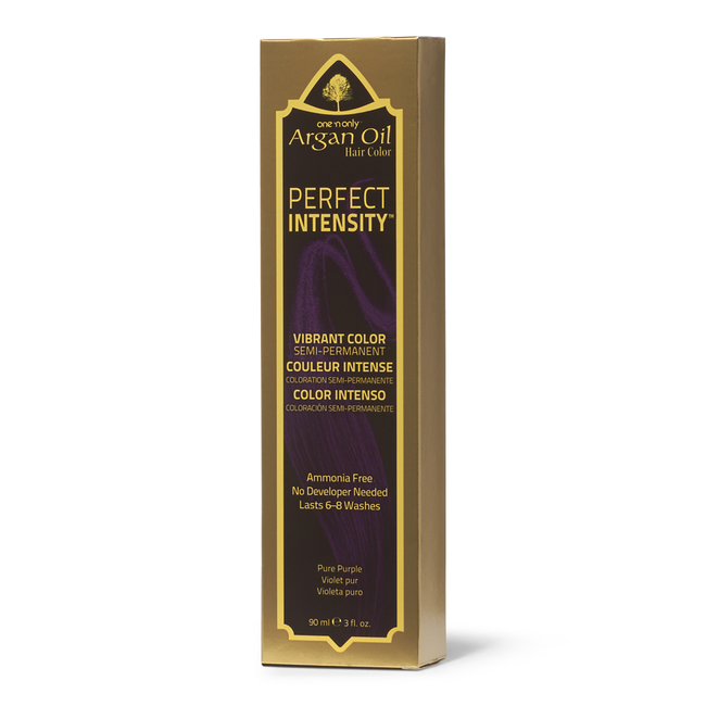 Perfect Intensity Pure Purple Semi Permanent Hair Color
