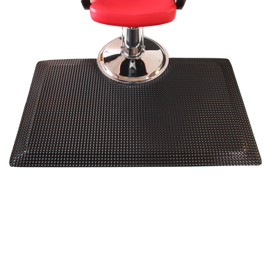 Rhino Reflex Rectangle Salon Mat 3'X5' Black