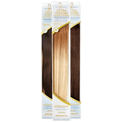 "20"" Ultra-Seamless Clip-In Hair Extensions"