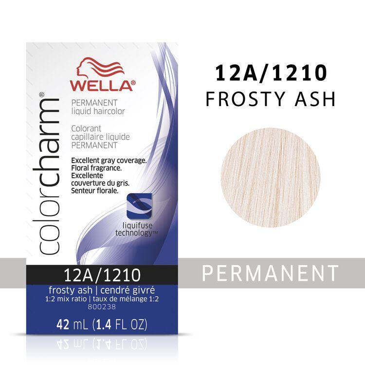 Frosty Ash Color Charm Liquid Permanent Hair Color