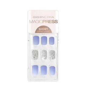 Magic Press on Nails Bubblegum Blue