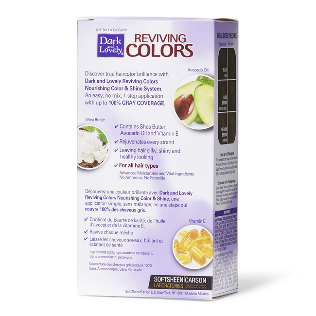 Ebone Brown Reviving Semi Permanent Hair Color