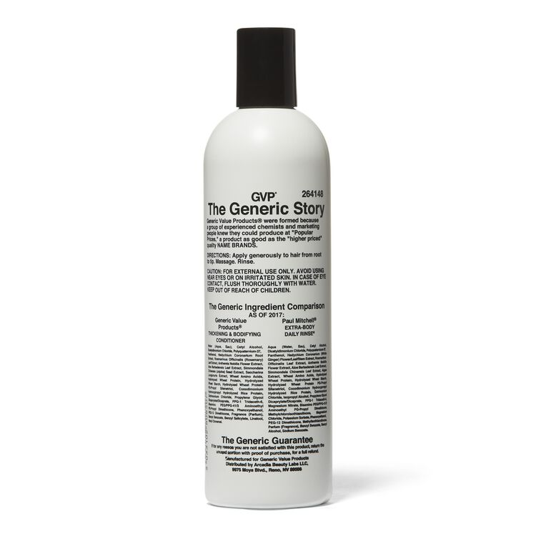 Thickening & Bodifying Conditioner Compare to Paul Mitchell Extra-Body Daily Rinse