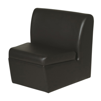 Black Newport Sofa Wedge