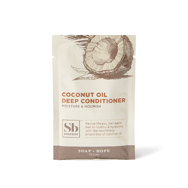 Coconut Oil Rejuvenating Deep Conditioner Packette