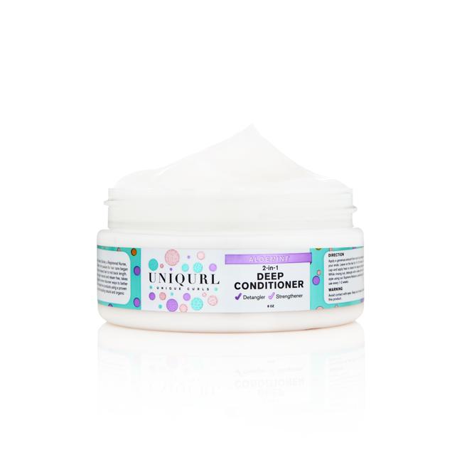AloeMint 2-in-1 Silkening Deep Conditioner
