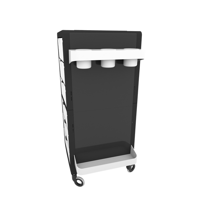 Publik Trolley Mix Black & White