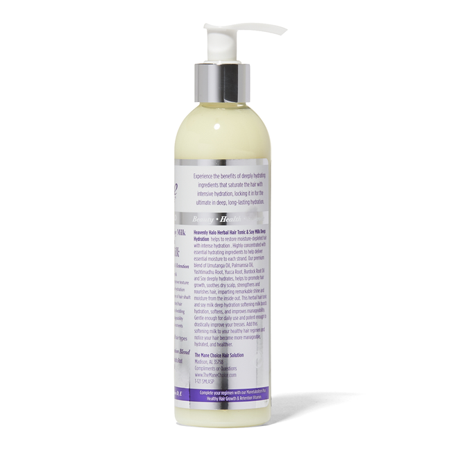 Heavenly Halo Herbal Hair Tonic & Soy Milk Deep Hydration Softening Milk