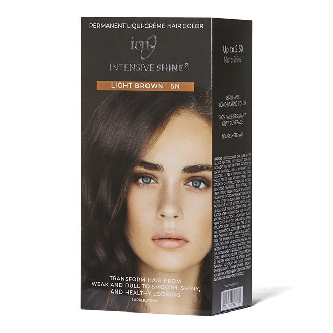 Intensive Shine Hair Color Kit Light Brown 5N