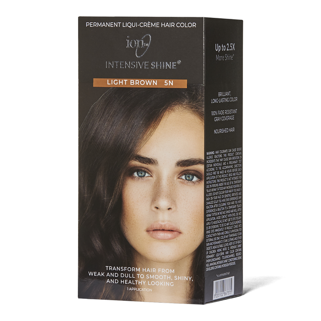 Intensive Shine Hair Color Kit Light Brown 5N