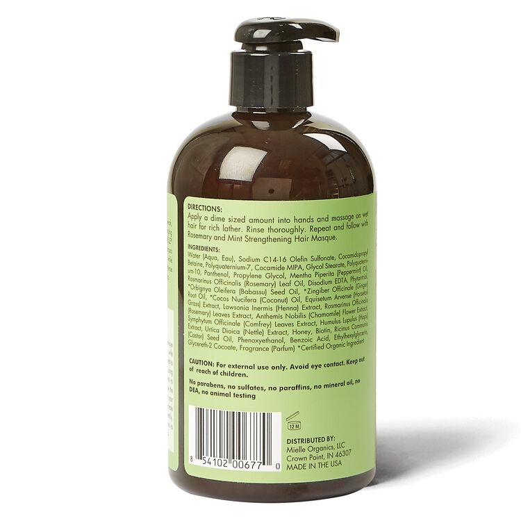 Rosemary Mint Strengthening Shampoo