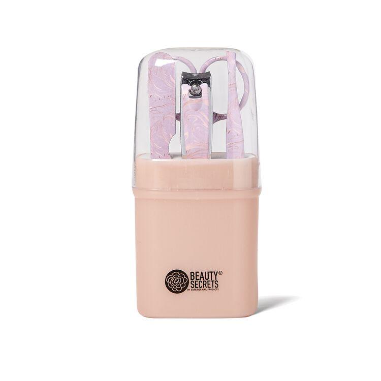 Pink Mini Mani Kit