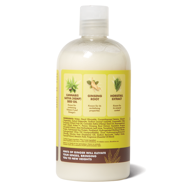 Cannabis Sativa (hemp) Seed Oil Lush Length Shampoo
