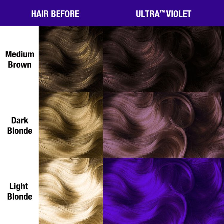 Ultra Violet Semi Permanent Cream Hair Color