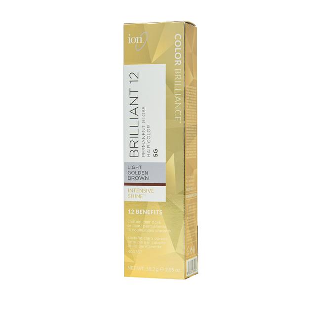 5G Light Golden Brown Permanent Gloss Hair Color