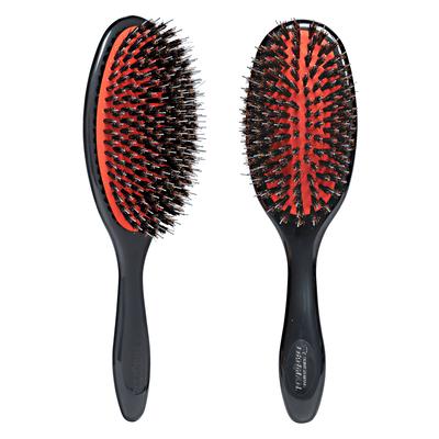 Natural Bristle & Nylon Pin Grooming Brush