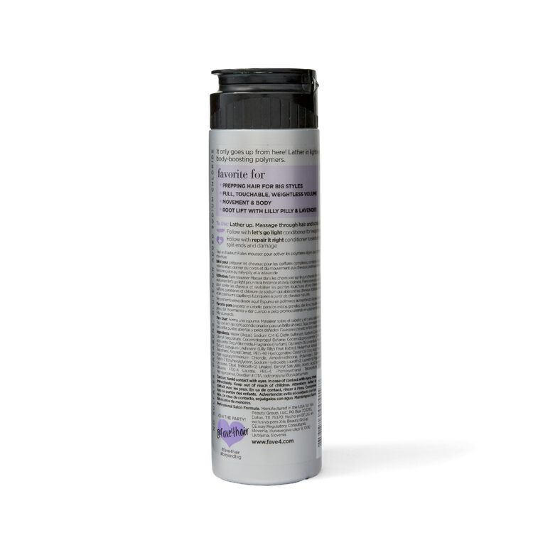 Beyond Big Volume Shampoo