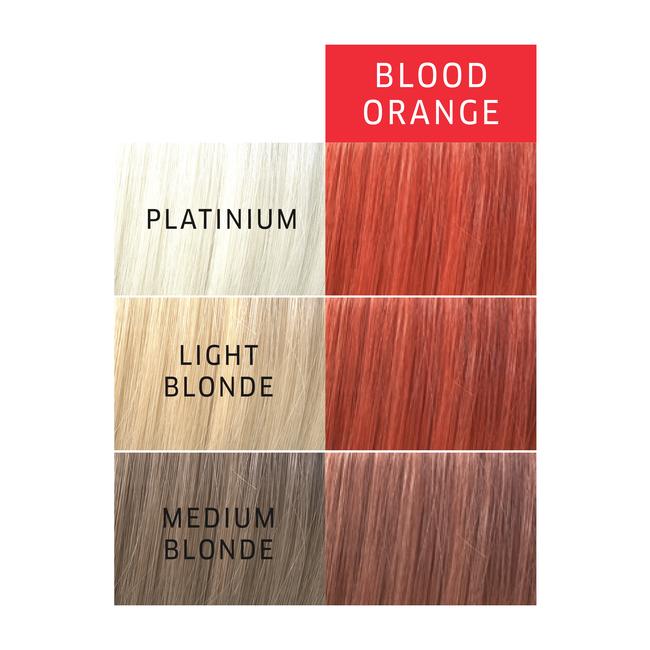 Paints Blood Orange Semi Permanent Hair Color
