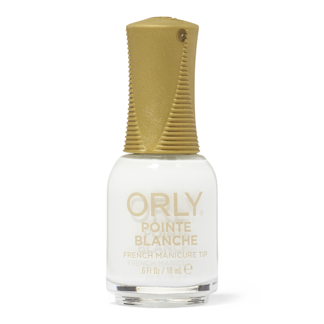French Manicure Pointe Blanche