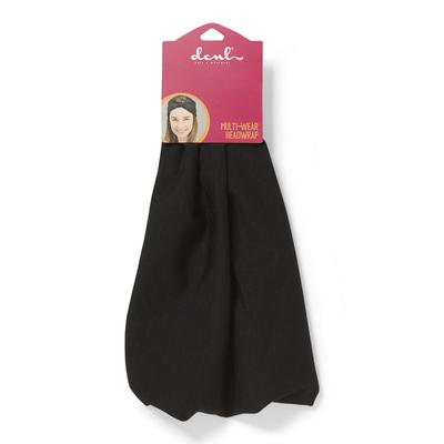 Black Multi-Wear Headwrap