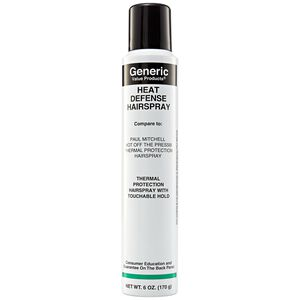 Heat Defense Hairspray Compare to Paul Mitchell Express Style Hot off the Press