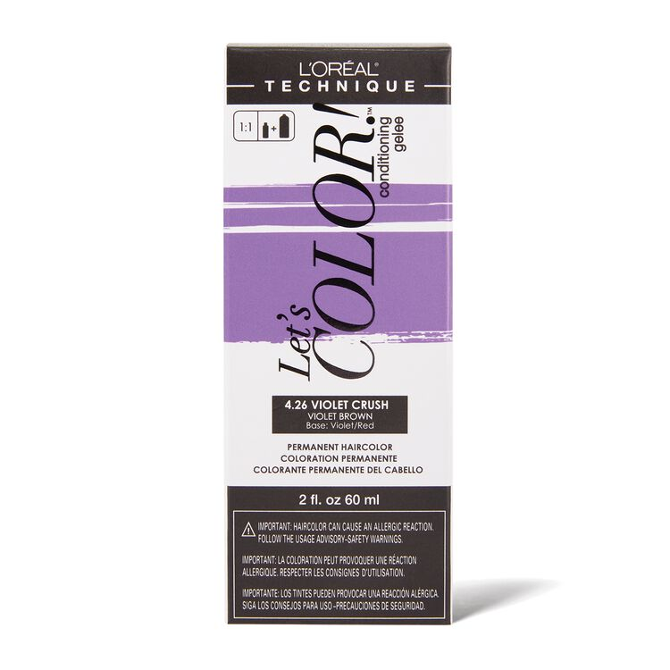 Let's COLOR! Conditioning Gelee Permanent Haircolor 4.26 Violet Crush