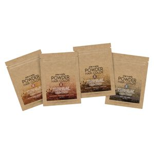 Powder Permanent Hair Color Packet