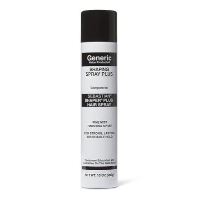 Shaping Spray Plus Compare to Sebastian Shaper Plus Hair Spray