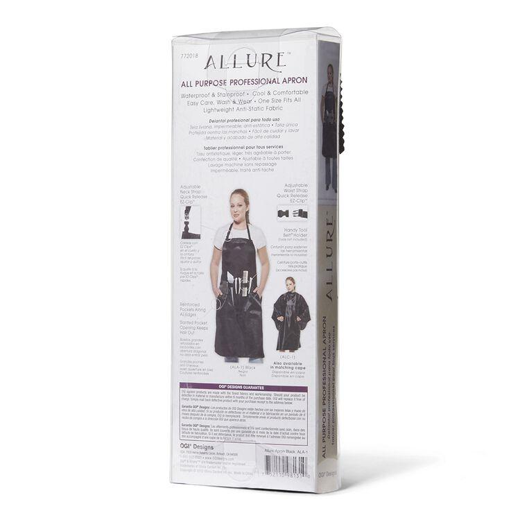 Black Allure Stylist Apron