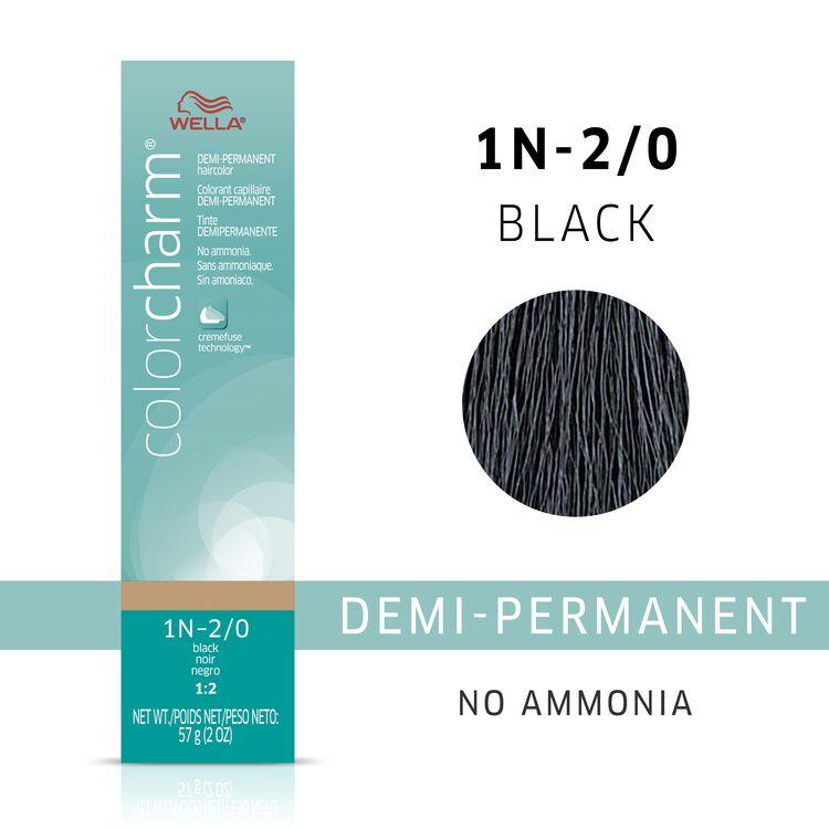 Black Demi Permanent Hair Color