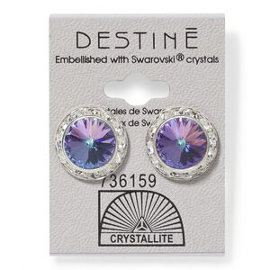 Destine VL RS Rivoli Crystal Earring
