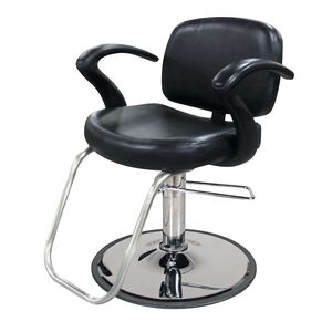 Cella Styling Chair with Chrome Base