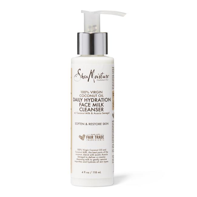 100% Virgin Coconut Oil Daily Hydration Facial Milk Cleanser