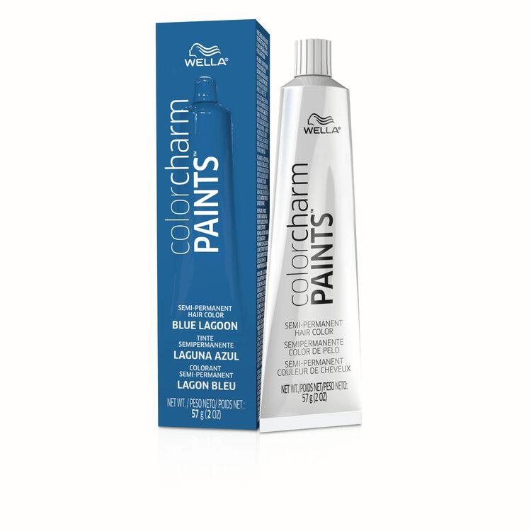 Paints Blue Lagoon Semi Permanent Hair Color