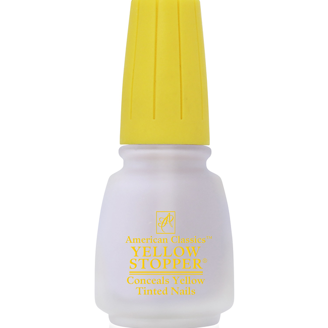 Yellow Stopper Top Coat .5oz