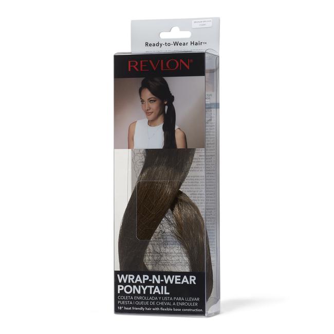 Wrap-N-Wear Ponytail Medium Brown