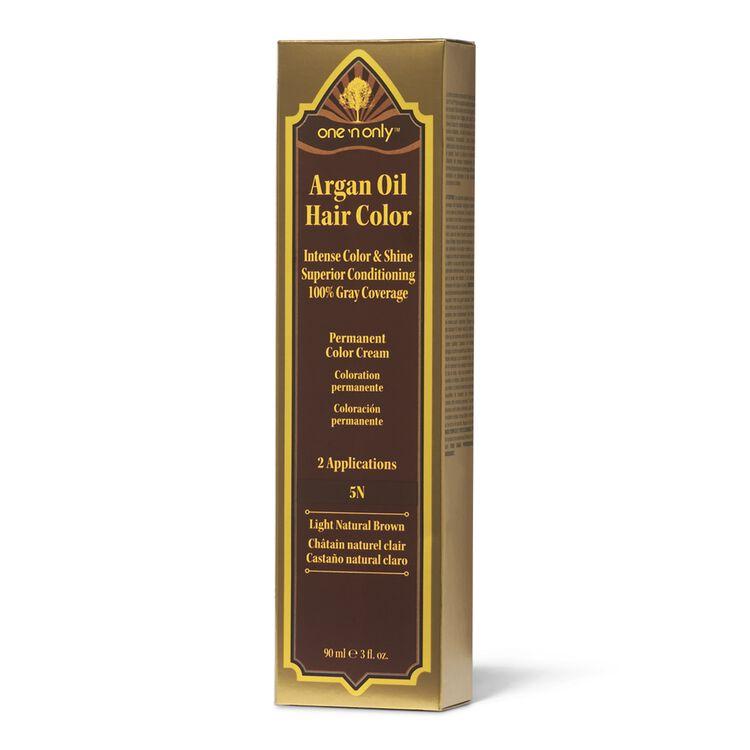 5N Light Natural Brown Permanent Hair Color Cream