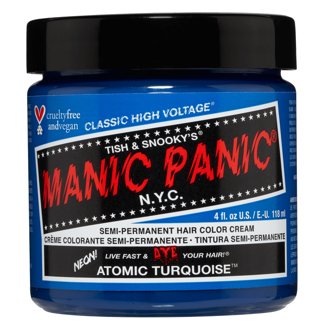 Atomic Turquoise Semi Permanent Cream Hair Color