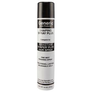 Shaping Spray Plus Hair Spray Compare to Sebastian Shaper Plus Hair Spray