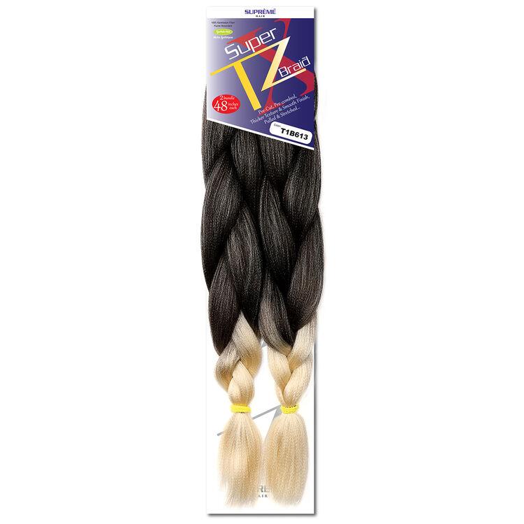 Super XTZ Braid Ombre Black/Ash Blonde