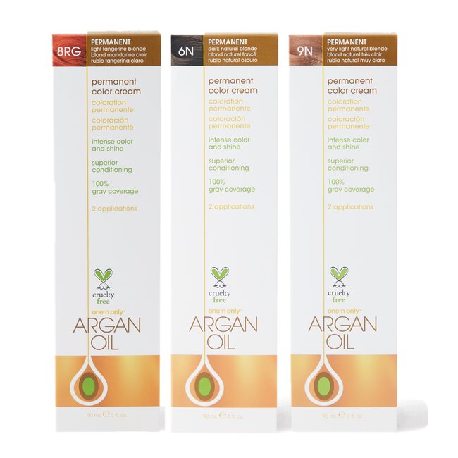 Argan Oil Permanent Color Cream