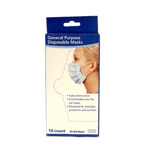 10 Pack Disposable Face Masks