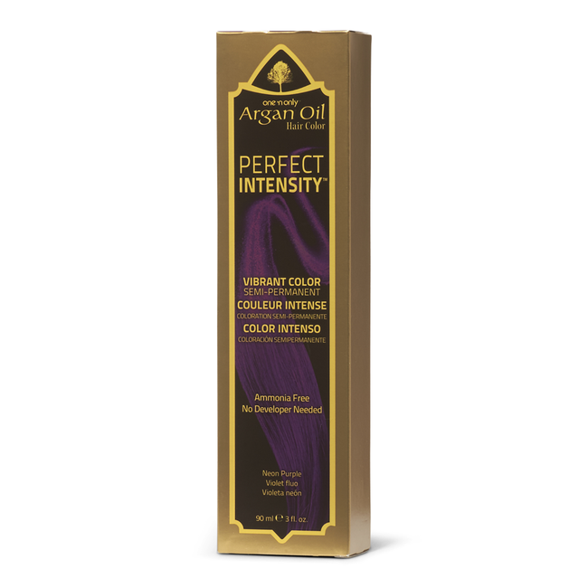 Perfect Intensity Neon Purple Semi Permanent Hair Color