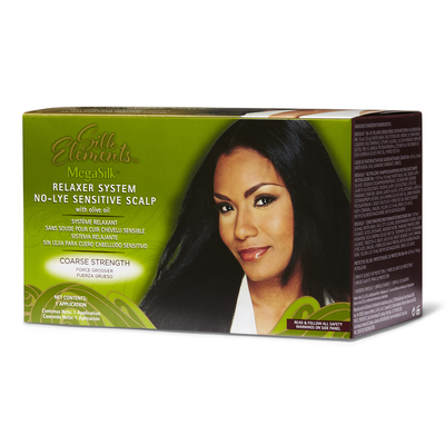 Olive Oil No-Lye Course Relaxer