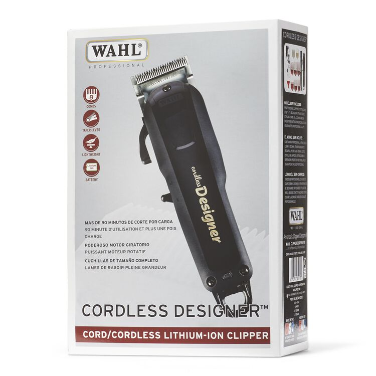 Cordless Designer Clipper By Wahl Clippers And Trimmers Sally Beauty