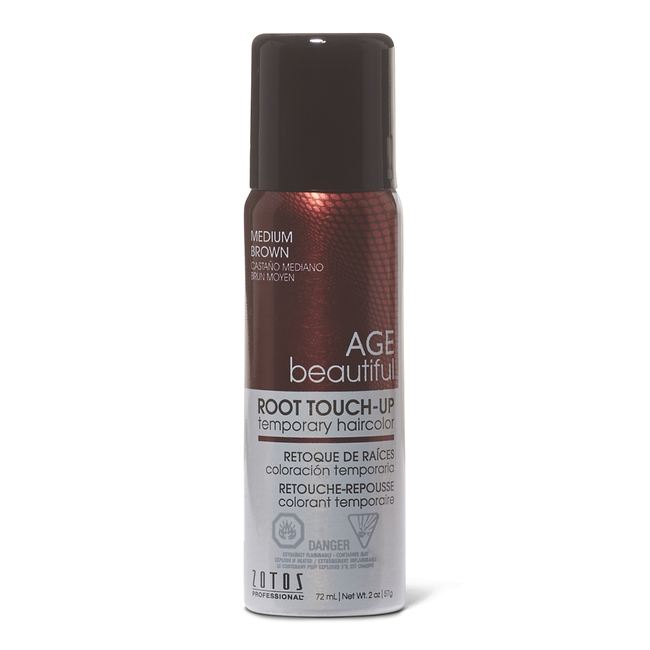 Medium Brown Root Touch Up Spray Temporary Hair Color