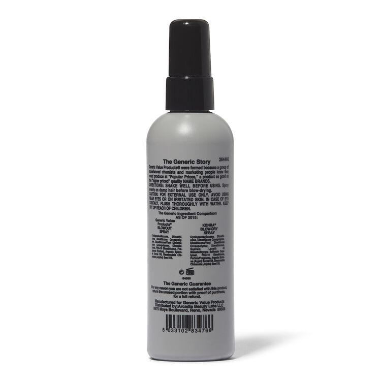 Blow Out Spray Compare to Kenra Blow Dry Spray